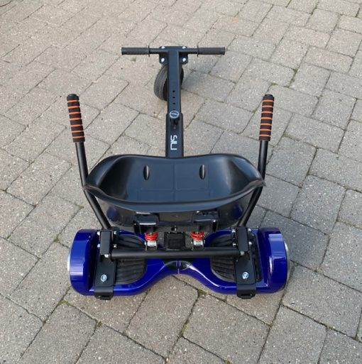 Segboard OFF ROAD Monster Gokart Med Affjedring i Sort