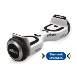 Original NILOX DOC 2 PLUS Segboard 6.5 med Bluetooth i Hvid